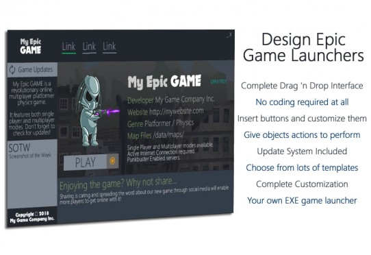 Game Launcher Creator