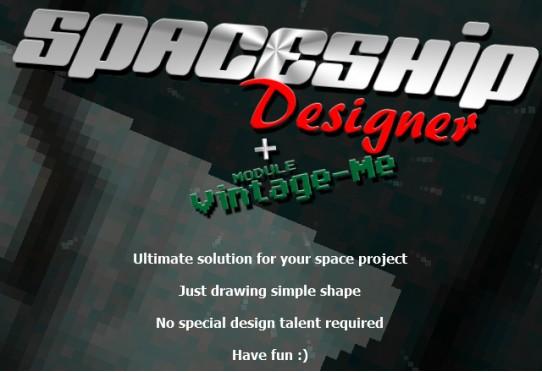 SpaceShip Designer - Spaceship design game